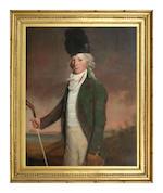 Circle of Sir Henry Raeburn RA (British, 1756-1823) Portrait of John Campbell of Saddell 127 x 99 cm. (50 x 39 in.)