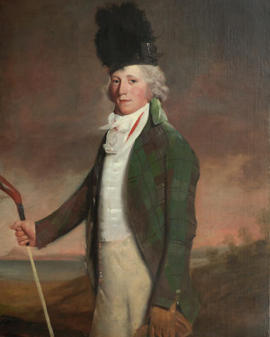 Circle of Sir Henry Raeburn RA (British, 1756-1823) Portrait of John Campbell of Saddell 127 x 99 cm. (50 x 39 in.)