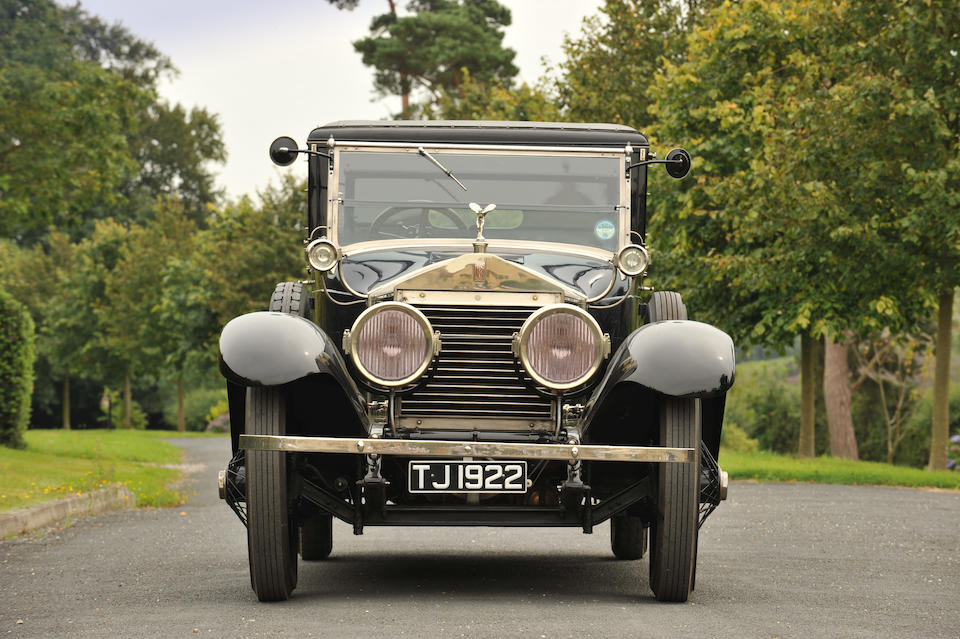 1923 Rolls Royce 40/50hp Silver Ghost 'Salamanca'  Chassis no. 112 JH