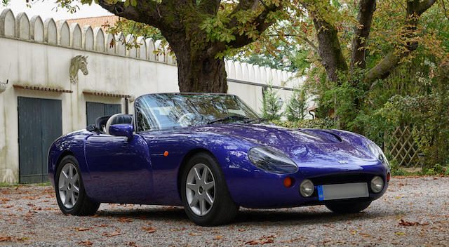 1996 TVR Griffith 500 Roadster  Chassis no. SDLDGC5P7TG011773