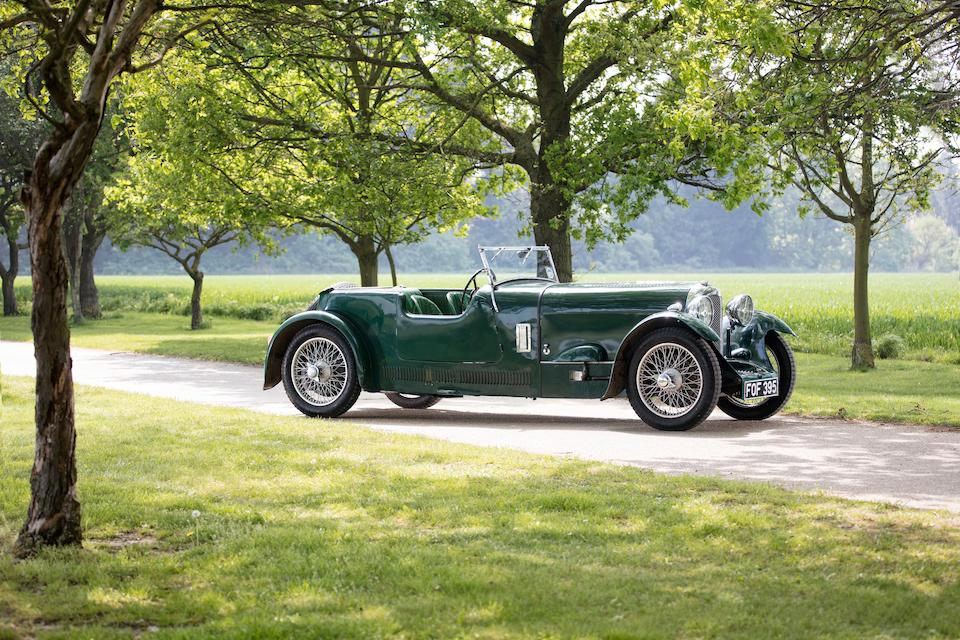 1936 Marendaz Special 13/70hp Sports Tourer  Chassis no. 807