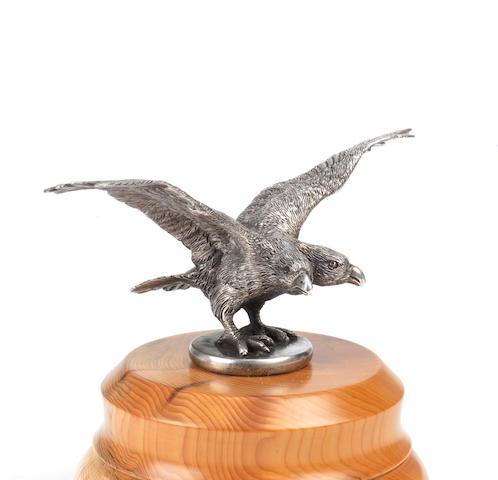 An unusual 'Two-Headed Eagle' mascot, believed Austrian,