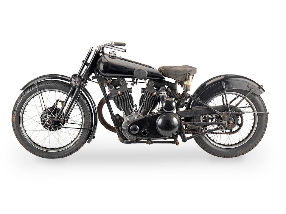 1933 Brough Superior 981cc SS100 Project Frame no. S1049 Engine no. JTO/Z 33250 Gearbox no. 7725