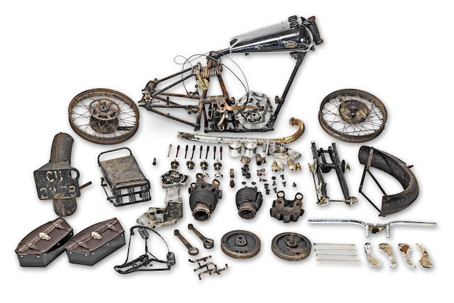 1928/1925 Brough Superior 981cc SS100 Project Frame no. 984 (see text) Engine no. KTOR/A 37193 (see text)