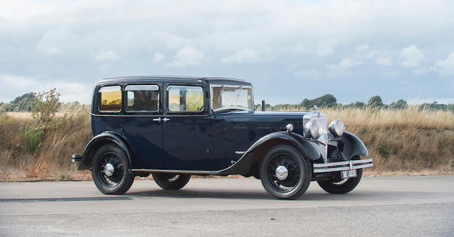 1933 Morris Isis 17.7hp Saloon  Chassis no. 6535