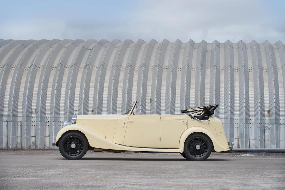1935 Rolls-Royce 20/25hp Drophead Coupé  Chassis no. GLJ8