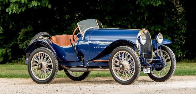 1924 Bugatti Type 13 Brescia Sports Chassis no. 2058