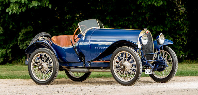 1924 Bugatti Type 13 Brescia Sports Chassis no. 2058