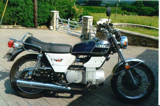 1980 DKW W2000 Rotary 'Oil Injection' Frame no. 480005128 Engine no. 7587581