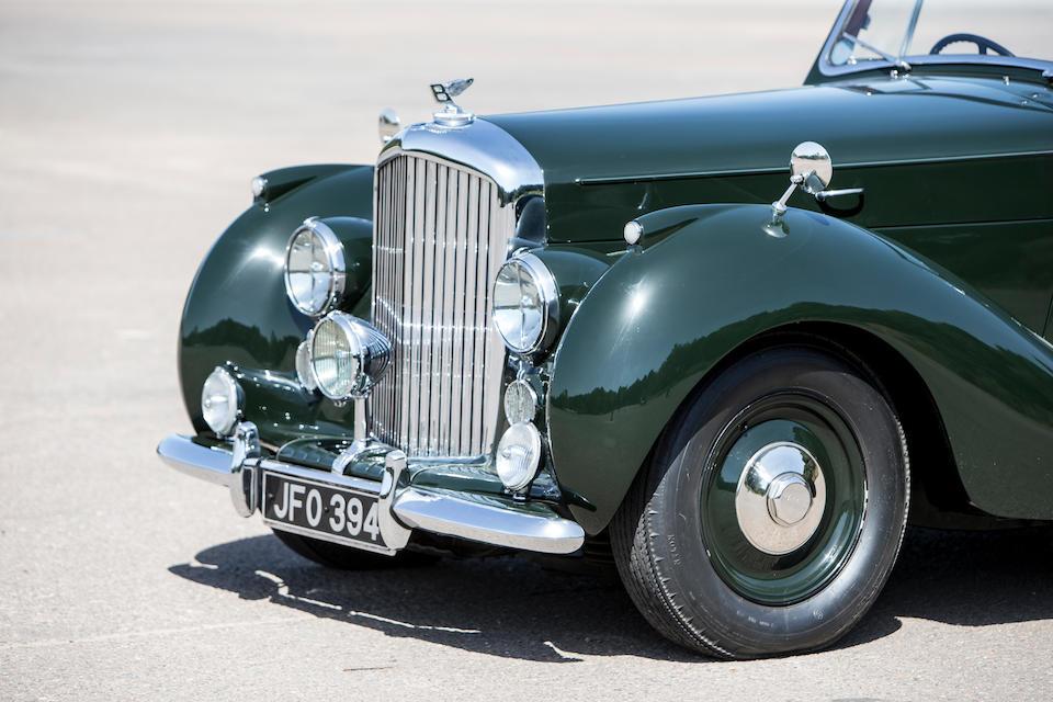 Bonhams : 1947 Bentley Mark VI Drophead Coupé Chassis no  B108AK