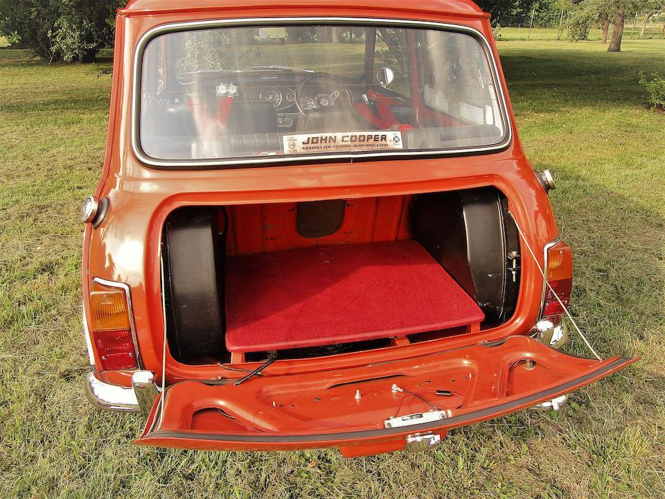 1970 Mini Cooper 'S' MkIII Sports Saloon  Chassis no. XAD1 75723AS