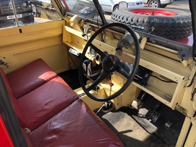 """1966 Land Rover Series IIA 109"""" 4x4 Fire Tender  Chassis no. 252130C6C"""