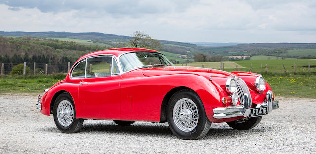 1958 Jaguar XK 150 Coupé  Chassis no. S824241DN
