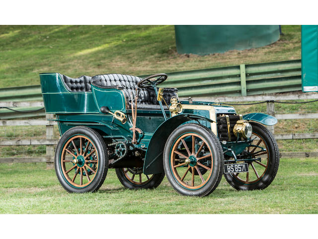 Formerly in The National Motor Museum Collection, regular London to Brighton finisher, offered from a prominent UK Collection ,1903 Panhard et Levassor 7hp Type A Rear-entrance Tonneau  Chassis no. 5887