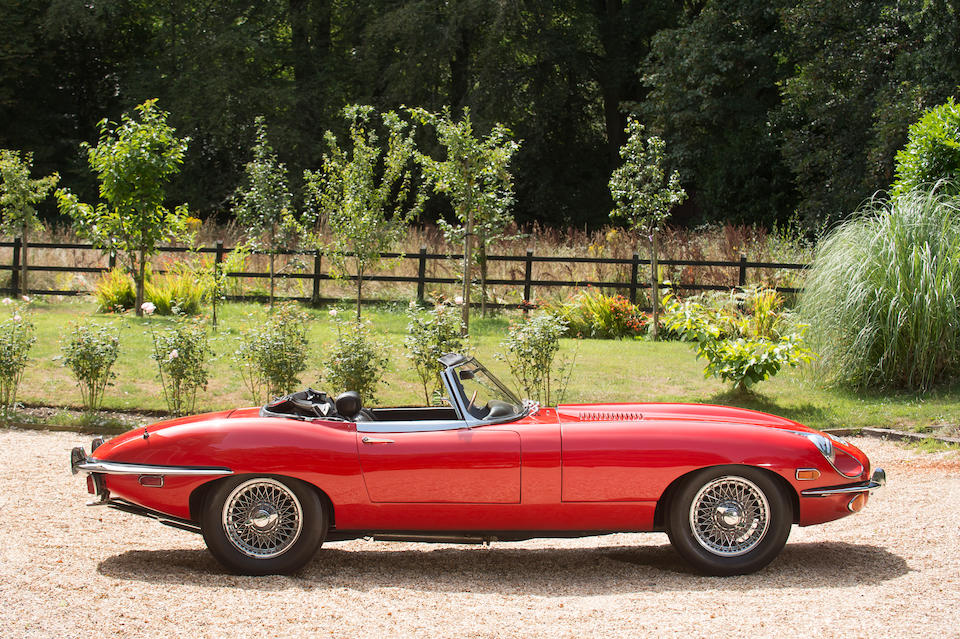 1969 Jaguar E-Type Series 2 Roadster  Chassis no. 1R 11816