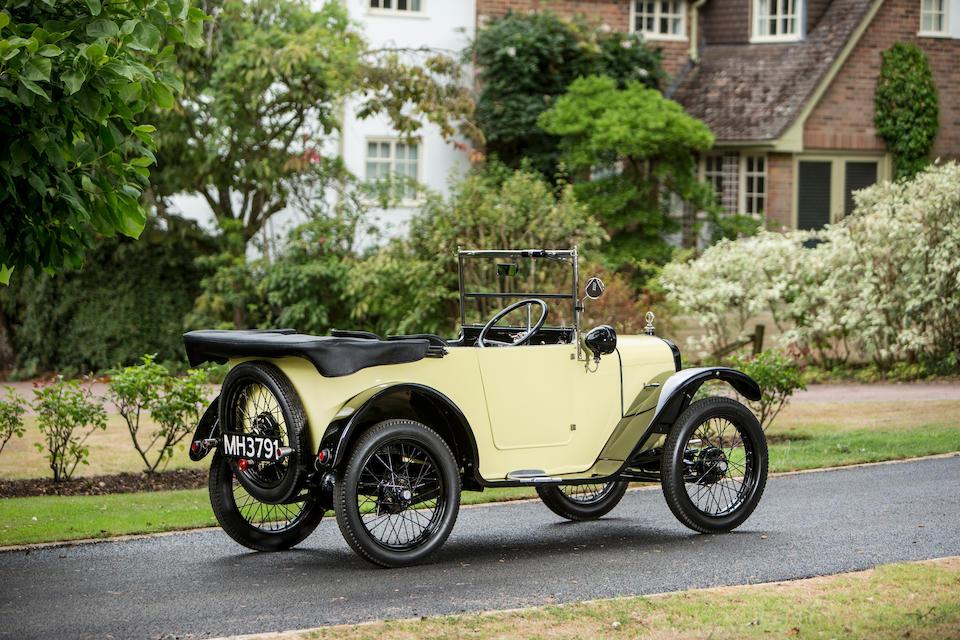 1925 Austin Seven 'Chummy' Tourer  Chassis no. A19059