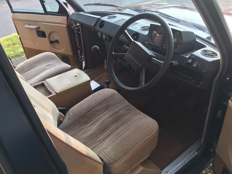 1982 Range Rover  4x4 Estate  Chassis no. SALLHAMV1AA122085