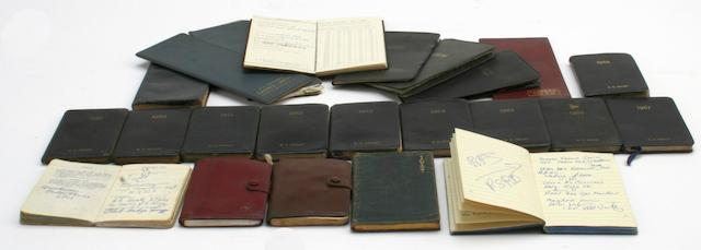Geoffrey Healey's Letts pocket diaries, 1959 to 1968,