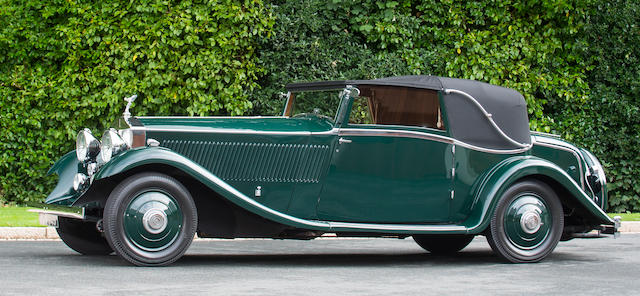 1933 Rolls-Royce 40/50hp Phantom II Continental Sedanca Coupé Chassis no. 69MW