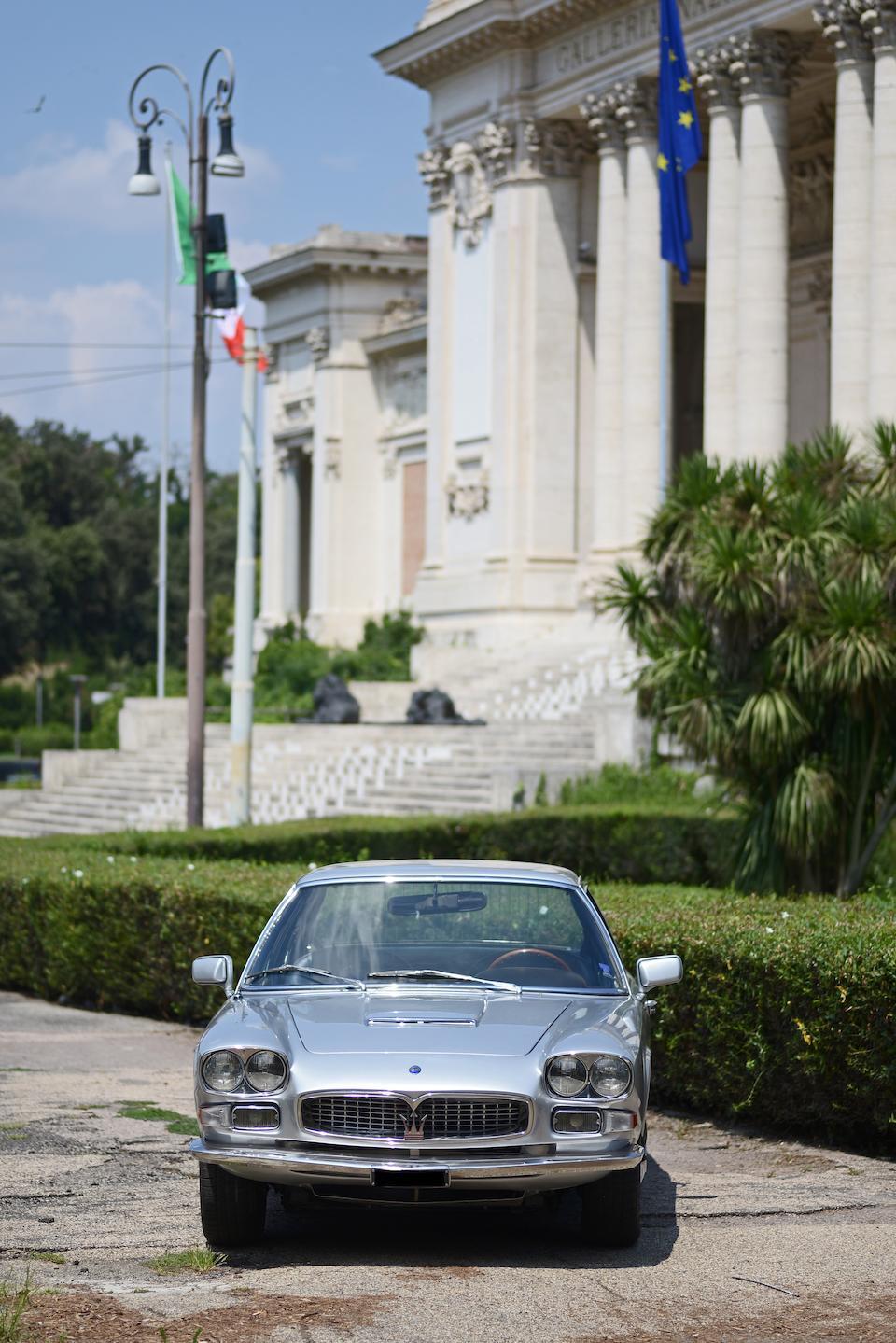 1967 Maserati Quattroporte 4200 Sports Saloon  Chassis no. AM107/1458