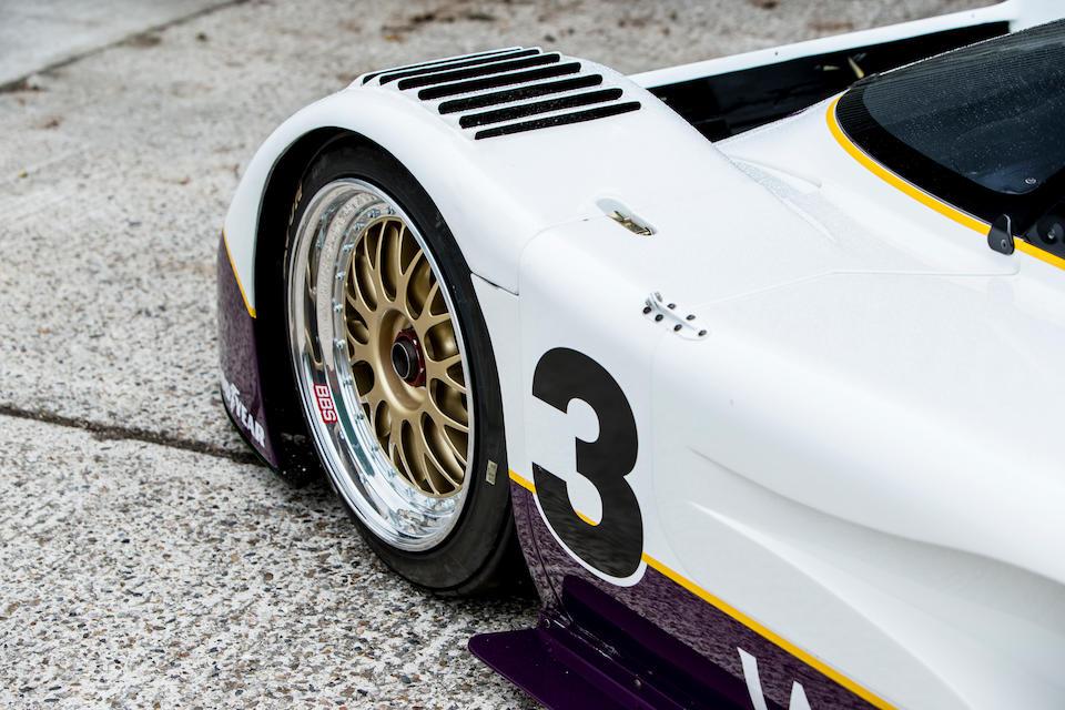 The ex-TWR JaguarSport; Martin Brundle/Alain Ferté/Jan Lammers, 1990 Jaguar XJR-11 Group C Sports Prototype  Chassis no. 490