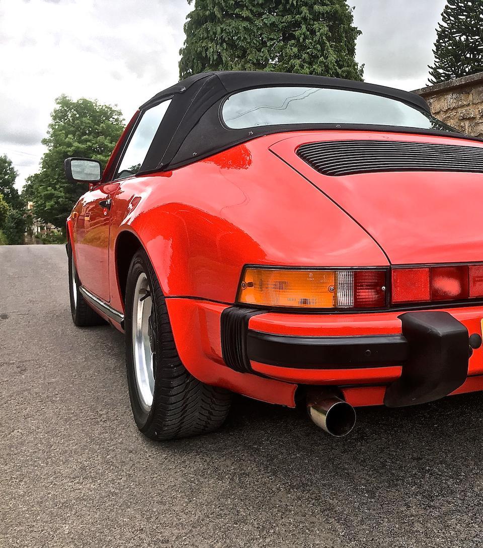 1983 Porsche 911SC Cabriolet  Chassis no. WP0ZZZ/91/Z/DS150399