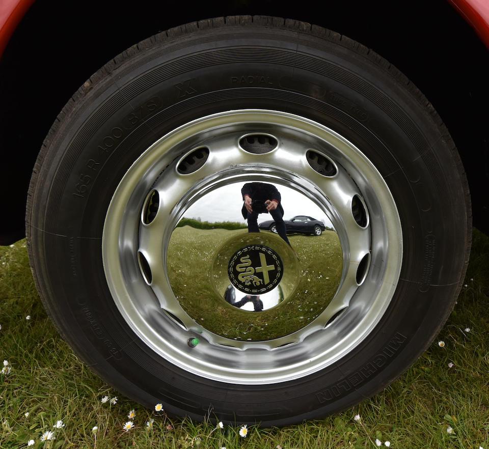 1962 Alfa Romeo 2000 Spider  Chassis no. 1020402002
