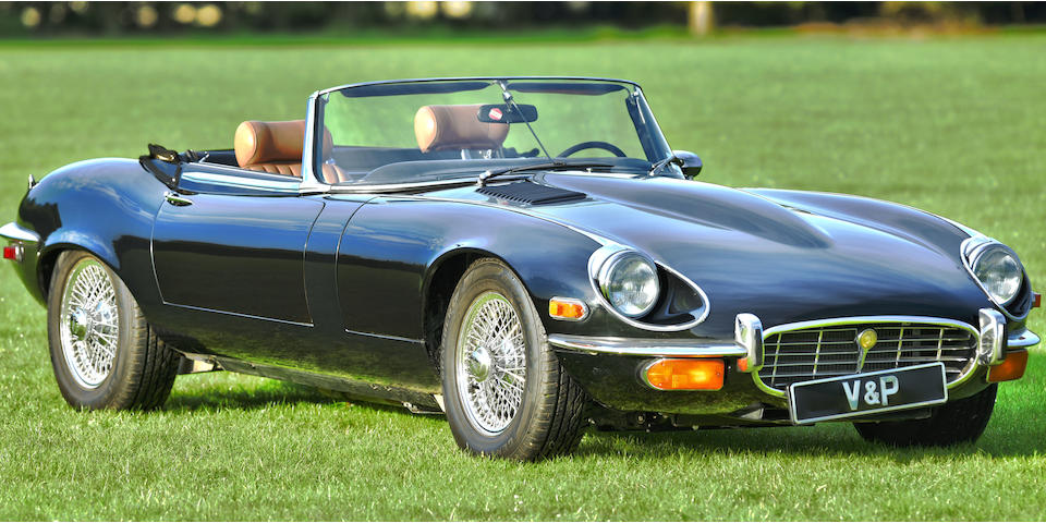 1972 Jaguar E-Type Series 3 V12 Roadster  Chassis no. UC1S20803