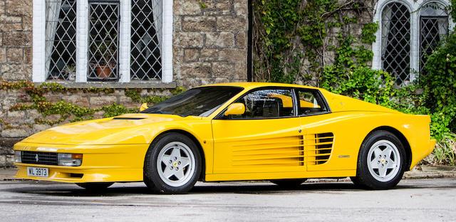 1989 Ferrari Testarossa Coupé  Chassis no. ZFFAA17B000086641