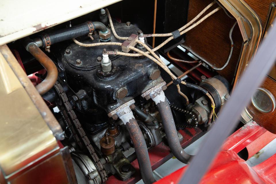 1909 Alldays & Onions 10/12hp Tourer  Chassis no. 2874