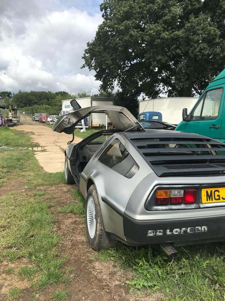 1981 DeLorean DMC12 Coupé  Chassis no. SCEDT26T6BD005730