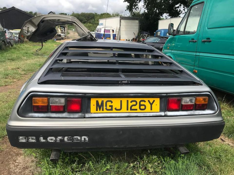 1981 DeLorean DMC12 Coupé  Chassis no. SCEDT26T6BD005730
