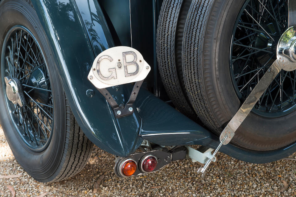 1935 AC 2-Litre 16/80hp Competition 'Slab-tank' Sports  Chassis no. L364