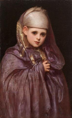 Frederic, Lord Leighton, PRA (British, 1830-1896) Little Fatima