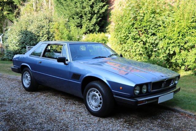 1983 Maserati Kyalami 4.9-Litre Sports Saloon  Chassis no. AM129/49/0105