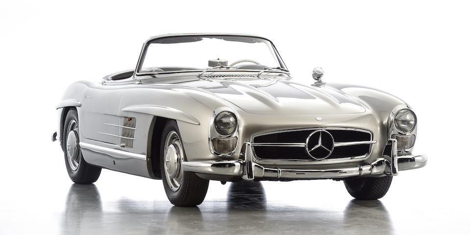 1957 Mercedes-Benz 300SL Roadster  Chassis no. 198042-7500328 (see text) Engine no. 198980-7500345