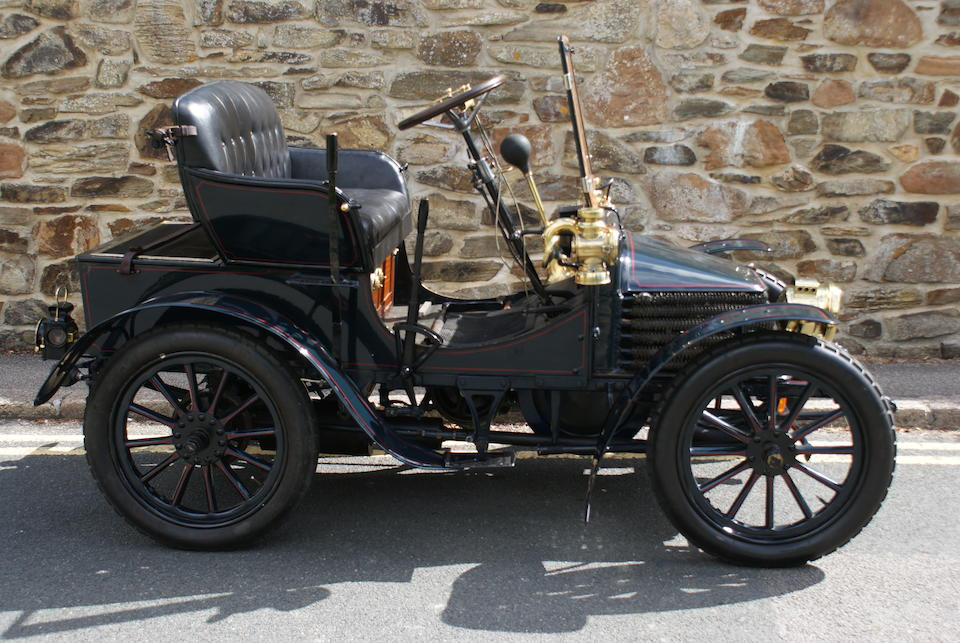 1904 Wolseley 6hp Two-Seater Voiturette  Chassis no. 8369