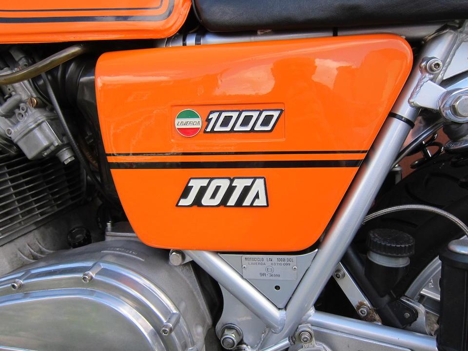 1980 Laverda 981cc Jota 180   Frame no. LAV 1000 7139 Engine no. 1000 7139