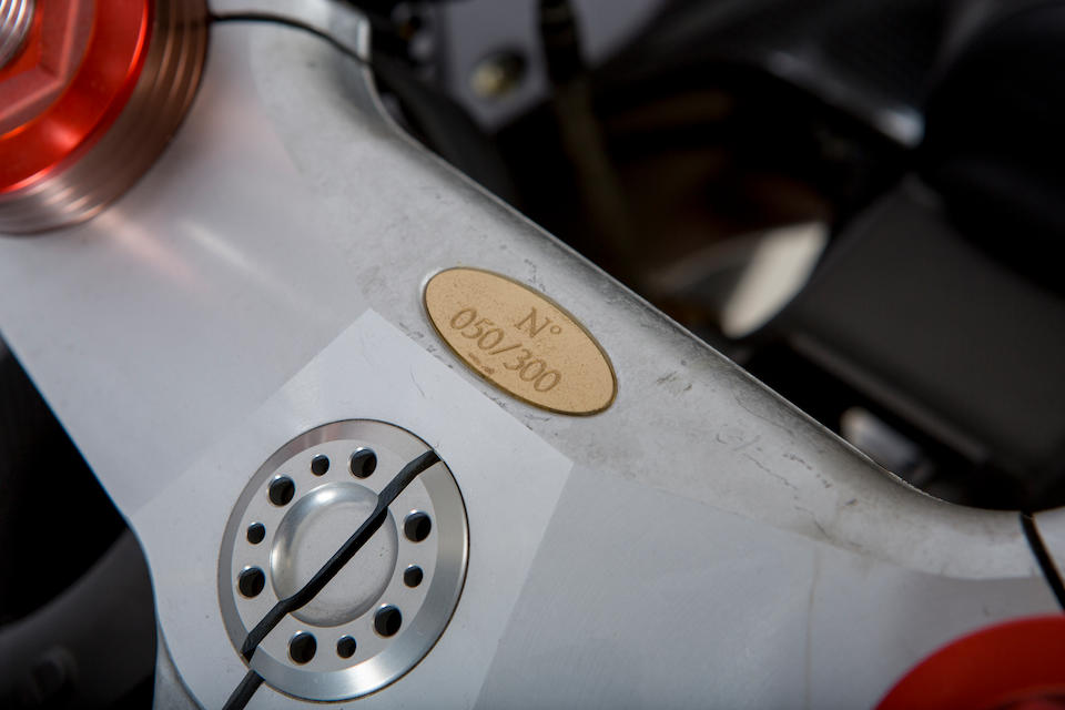 2000 MV Agusta 750cc F4 'Serie Oro' Frame no. ZCGF400AAXV000050 Engine no. not visible
