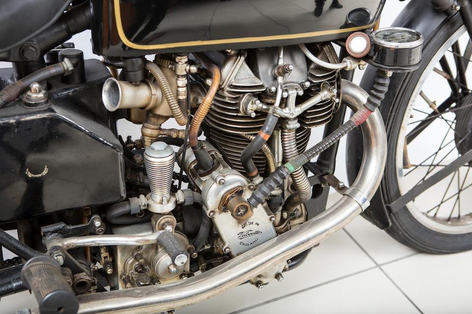 The ex-Harry Lamacraft, 1939 Velocette 348cc KTT Mark VIII Racing Motorcycle Frame no. SF19 Engine no. KTT 818