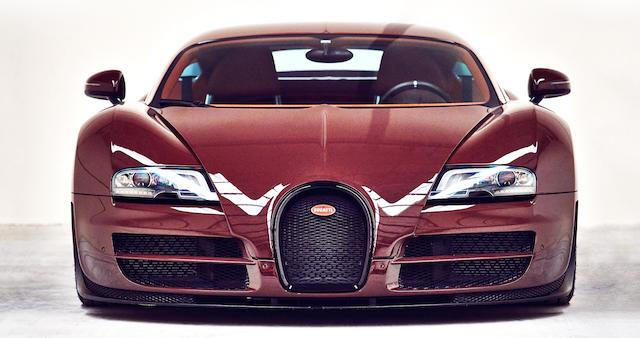 2012 Bugatti Veyron 16.4 Super Sport Chassis no. VF9SG25243M795038