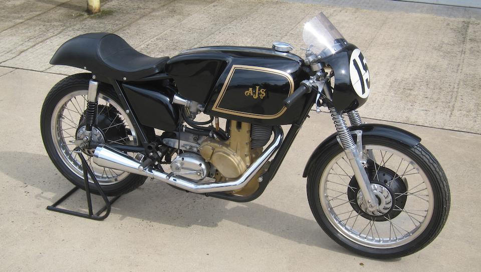 c.1959 AJS 350cc 7R Racing Motorcycle Frame no. 1696 Engine no. 1696