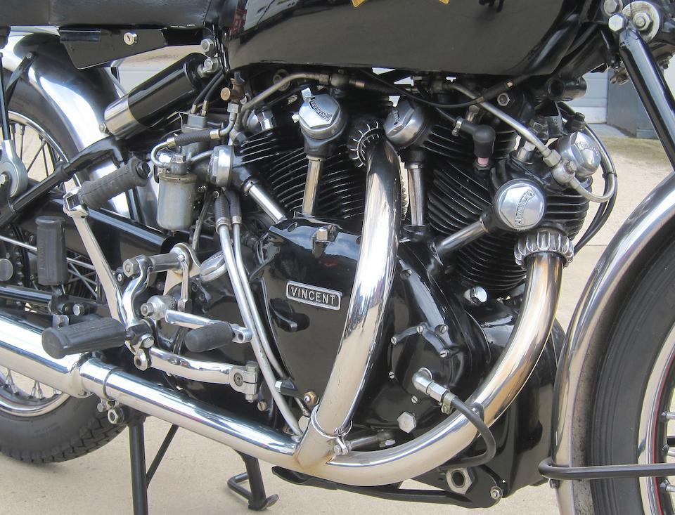 1951 Vincent 998cc Series-C Black Shadow Frame no. RC9234B Engine no. F10AB/1B/7334