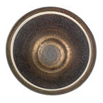 A Large Footed Porcelain Bowl by Dame Lucie Rie (British/Austrian, 1901-1995) IMPRESSED 'LR' SEAL; CIRCA 1968
