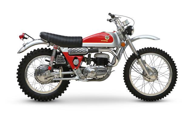 1972 Bultaco 250cc Matador MkIV Trail Bike Frame no. B-7500763 Engine no. M-7500763