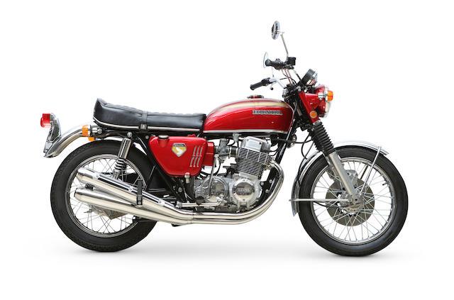 Bonhams : 1969 Honda CB750 \'Sand-Cast\' Frame no. CB750-1002196 ...