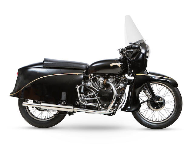 Bonhams : 1955 Vincent 998cc Black Knight Frame no. RD12910F Engine ...