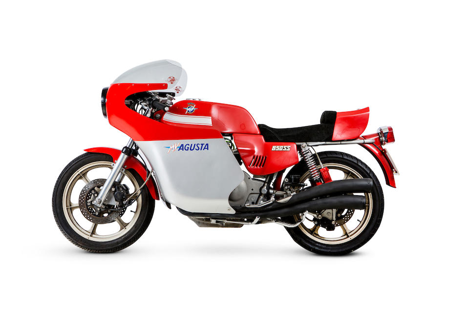 1978 MV Agusta 832cc Monza Frame no. 2210550 Engine no. 212-0446