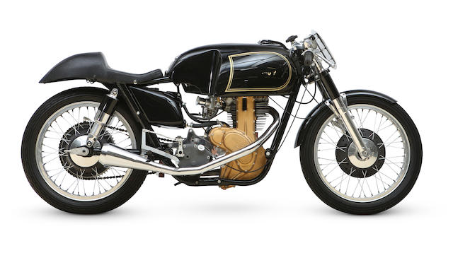 Bonhams 1956 Ajs 7r 350cc Racing Motorcycle Frame No 1700