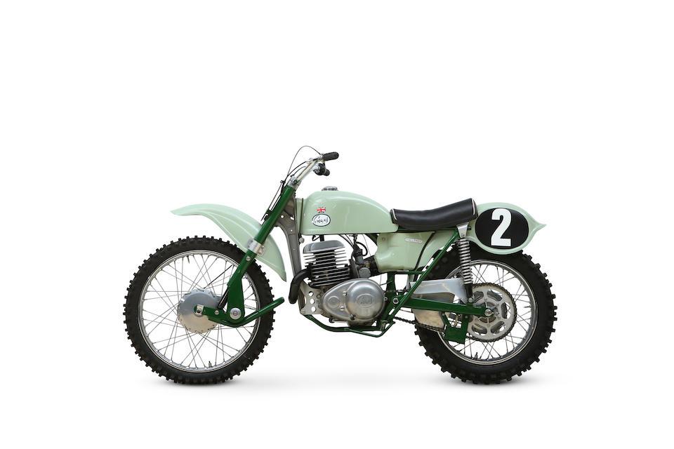 c.1965 Greeves 250cc Challenger 24MX2 Frame no. 1965 Engine no. 107